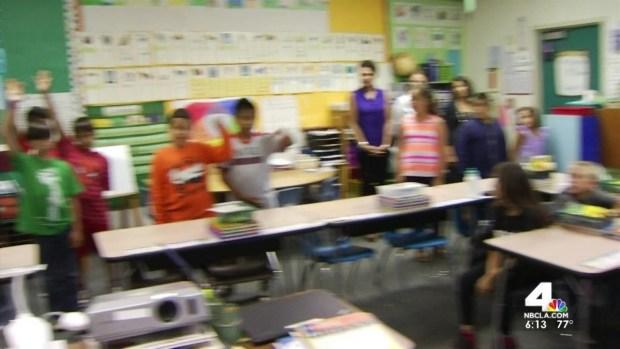 [LA] Man Takes Mental Health Help to Classroom