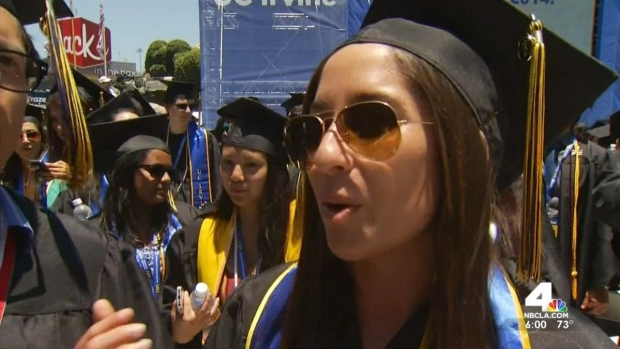 """""""I'm Trying to Light a Fire Under You"""", Obama tells UC Irvine Graduates"""