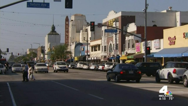 [LA] Beefed Up Security in Huntington Park