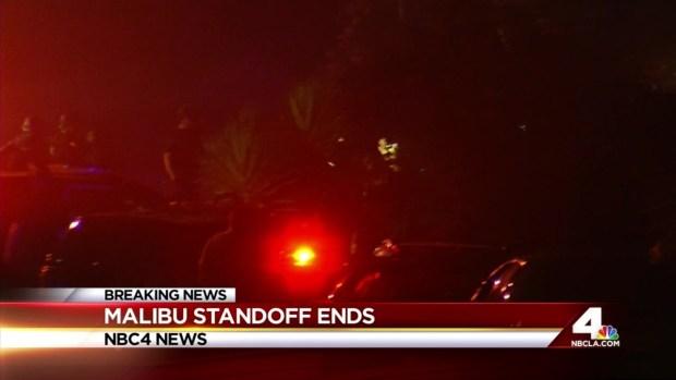 [LA] Malibu Standoff Ends in Gunman's Arrest
