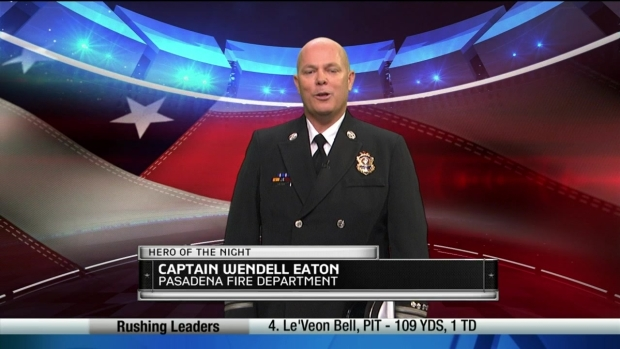 """The Challenge"" Hero of the Night: Capt. Wendell Eaton"
