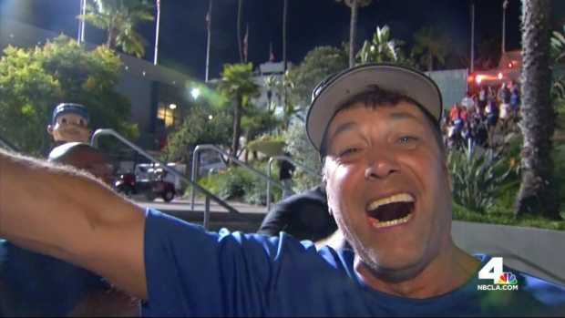 [LA] Dodgers Fans Brimming With Excitement After NL West Win