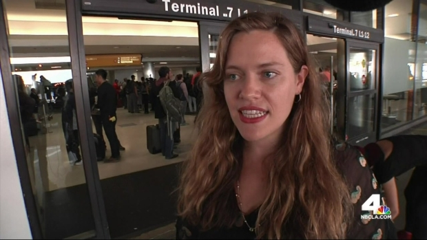 [LA] Passengers Describe Panic During Ebola Scare at LAX