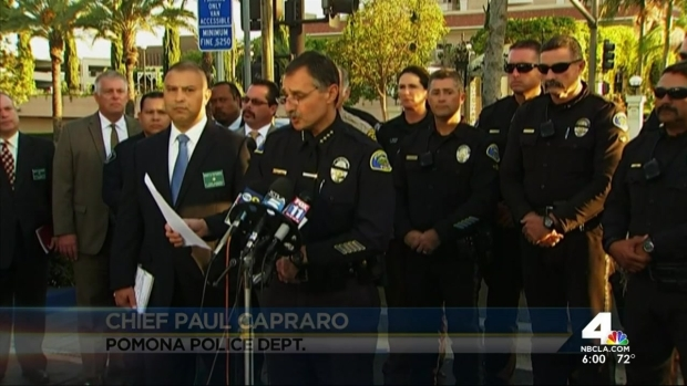 [LA] Officials ID Pomona SWAT Officer Wounded in Shooting