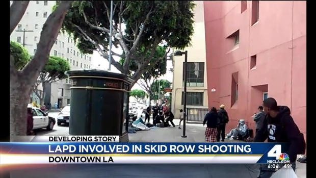 [LA] Caught on Video: Deadly Police Shooting in Downtown LA