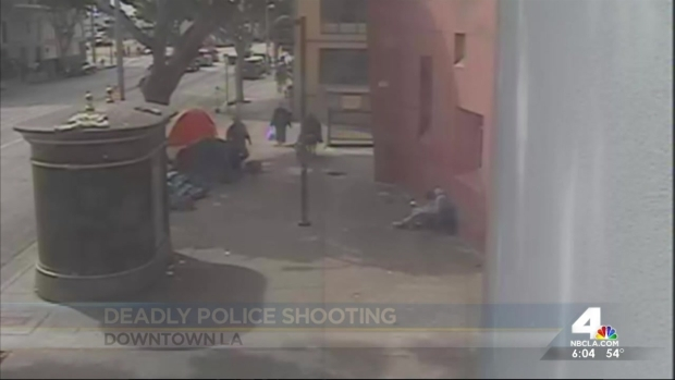 [LA] Surveillance Video Emerges in Fatal LAPD Shooting