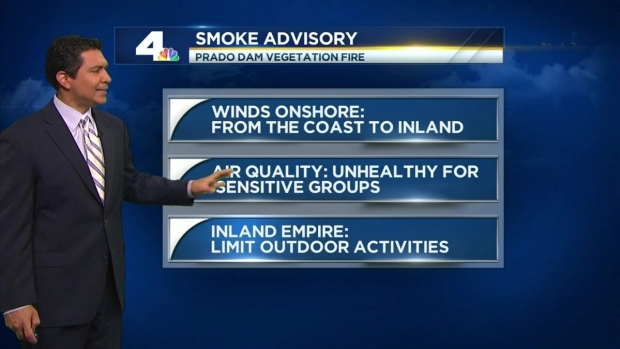 [LA] IE Under Smoke Advisory in Wake of Chino Fire