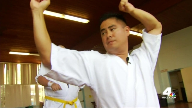 [LA] Man With Autism Teaches Others Karate