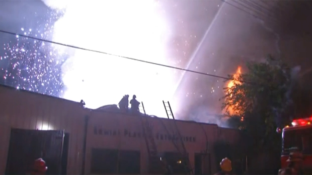 'Ferocious' Explosions Rock Maywood Warehouse