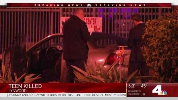 [LA] 16-Year-Old Girl Killed in Lynwood Was Returning From Church
