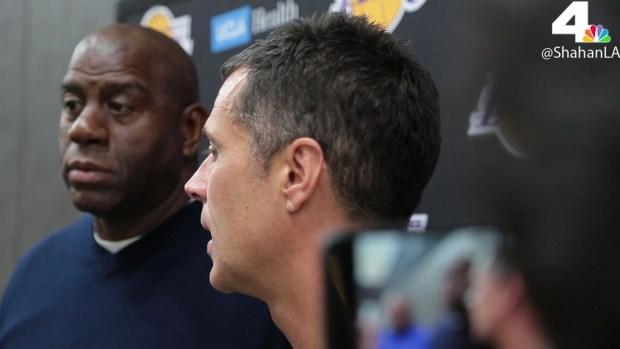 [LA] Magic Johnson, Rob Pelinka Explain Lakers' Trade