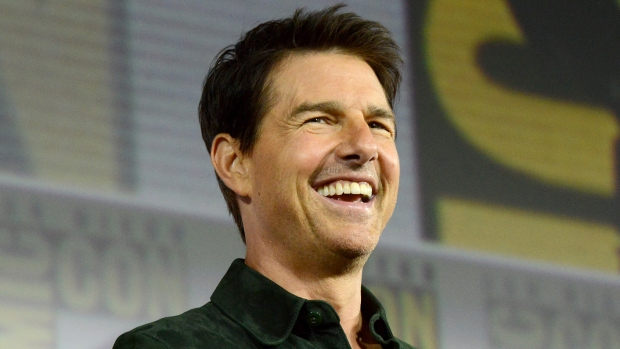 Tom Cruise Crashes Comic-Con To Premiere 'Top Gun' Sequel