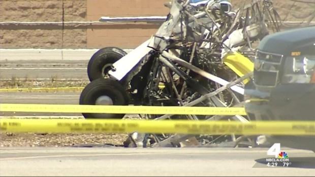 [LA] 1 Killed in Fiery Compton Plane Crash