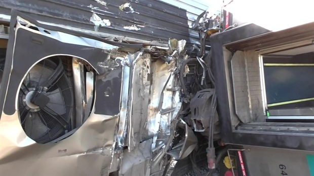 Look Inside Metrolink Train Derailment
