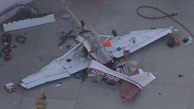 [LA] 2 Critically Injured in Pacoima Plane Crash