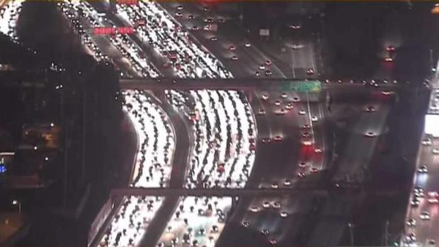 405 Freeway Reopens After 90-Minute Shutdown