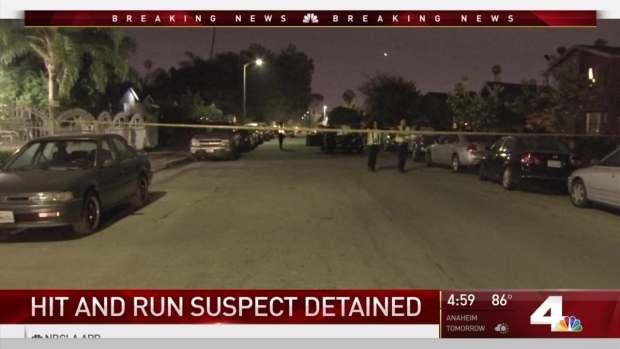 [LA] Hit-And-Run Suspect Detained