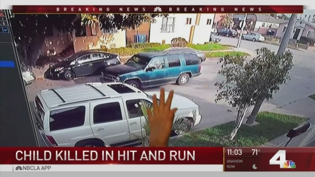 [LA] 5-Year Old-Boy Killed in South LA Hit-and-Run Crash