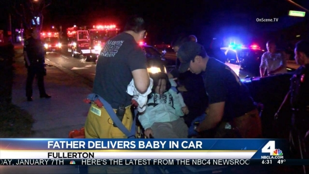 [LA] Father Helps Deliver his Own Baby