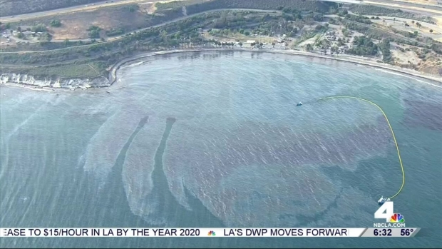 [LA] Pipeline Spill Covers Miles of California Coast in Oil