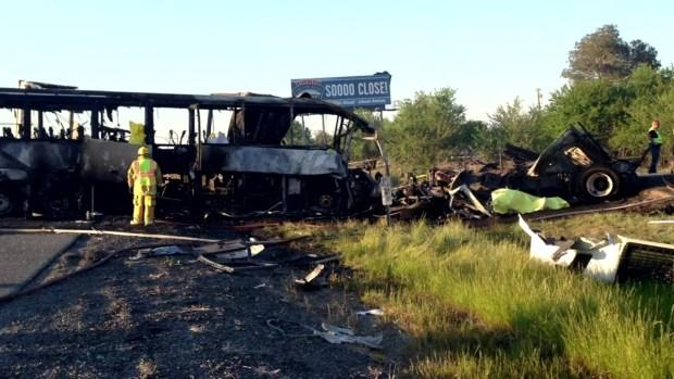 [LA] 911 Calls Reveal Chilling Moments After Bus Crash