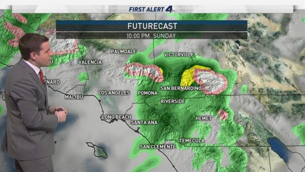 [LA] AM Forecast: Major Storm to Hit SoCal