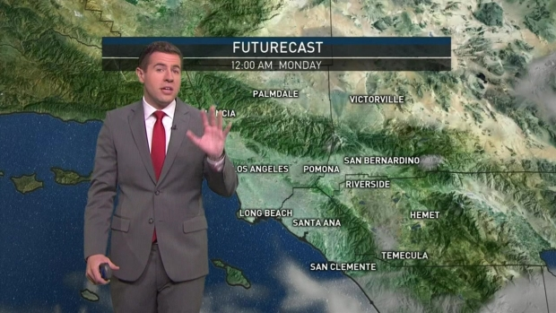 [LA] AM Forecast: Morning Drizzle Will Turn to Showers