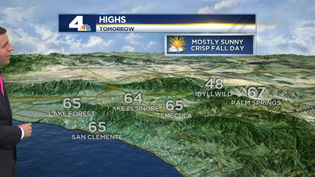 [LA] AM Forecast: High Clouds to Foreshadow Rain