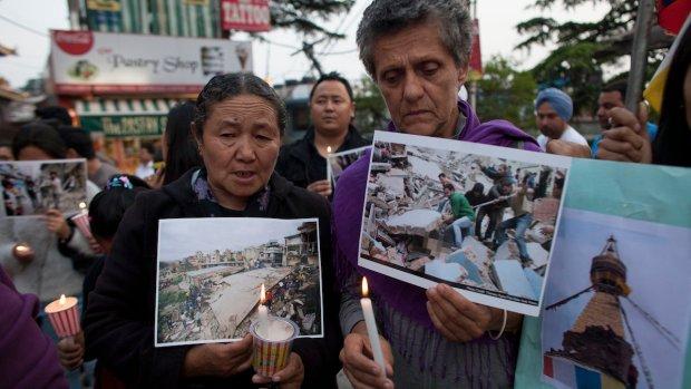 [NATL] PHOTOS: Deadly Earthquake Rocks Nepal