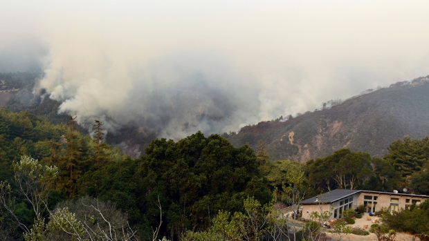 [BAY] Big Sur Fire Destroys California Homes