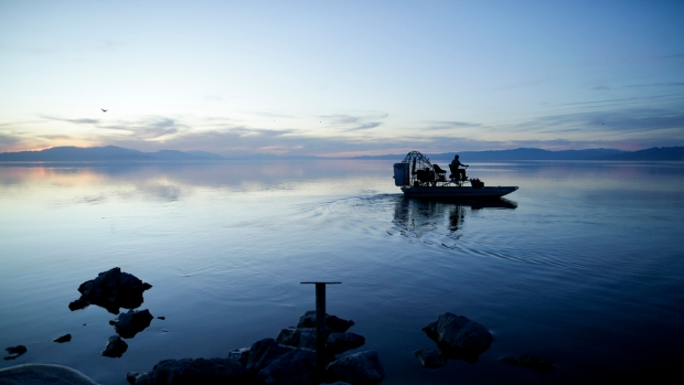 Stunning Images of the Shrinking Salton Sea