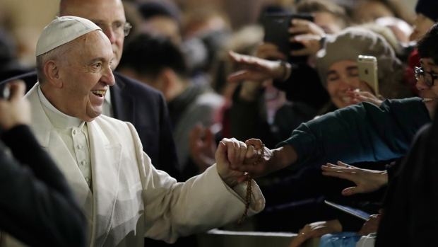 [NATL-PHI]Pope Francis Open to Having Married Priests
