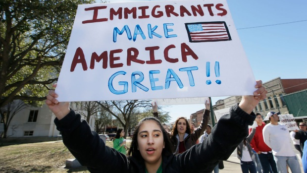 People Skip Work, School, and Shopping on 'Day Without Immigrants'