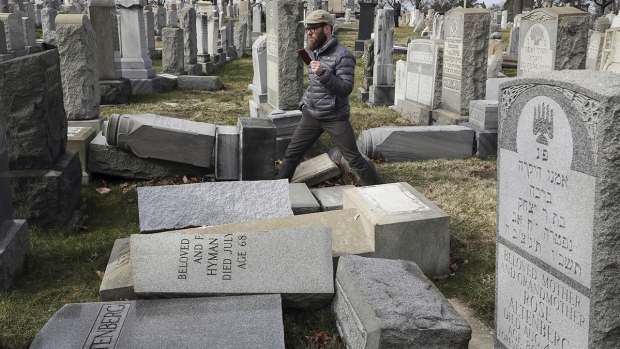 Top News: Jewish Tombstones Vandalized, Rose Monday Parade