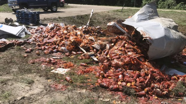 [NATL] Unfortunate Truck Spills: Ark. Highway Sees 3rd Food Spill