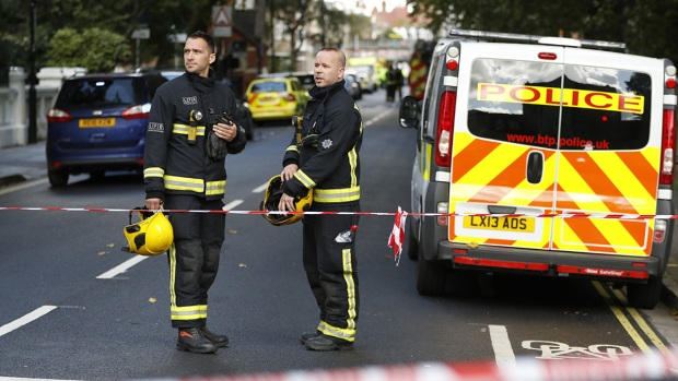 22 injured as London Tube train hit by terror attack (Fifth Lead)