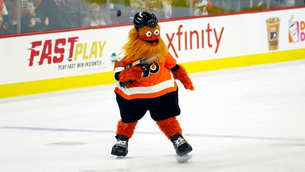 [NATL] Top Sports Photos: Meet Gritty, Philadelphia Flyers' New Mascot
