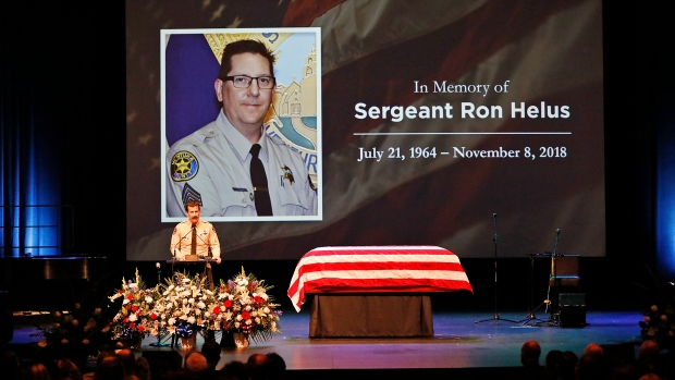 Photos: Law Enforcement, Family, Friends Gather to Remember Sgt. Ron Helus