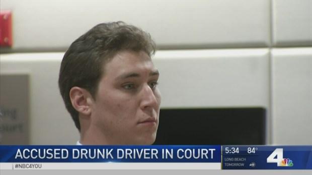 [LA] Accused Drunk Driver in Court