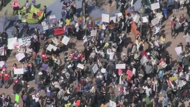 [LA] Activists Rally Against Gun Violence at Pershing Square