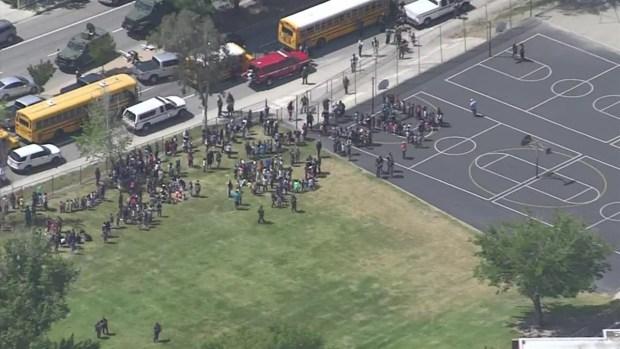 [LA] Watch: Students Evacuated Due to Shooting at San Bernardino School