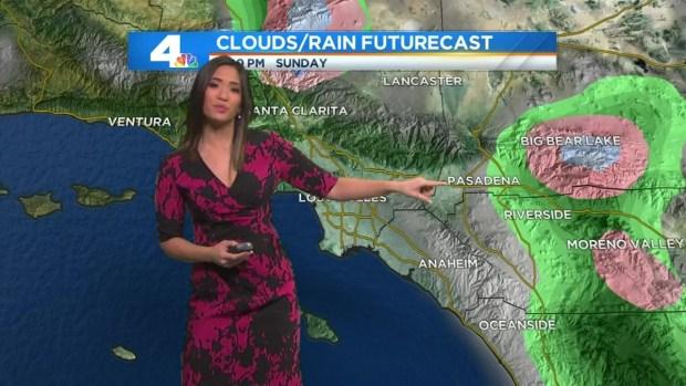 [LA] Am Forecast: Rain Moves In