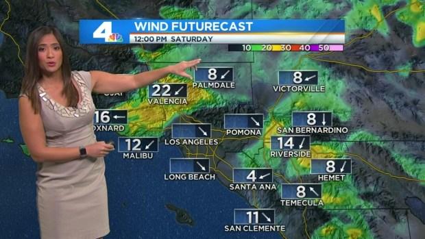 [LA] AM Forecast: Wildfire Danger