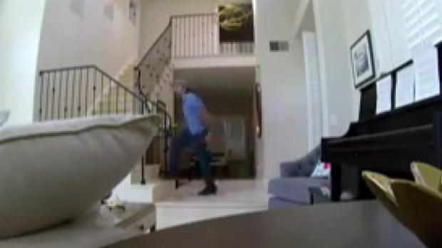 [LA] Watch: Burglar Wipes Down Door Before Stealing Property