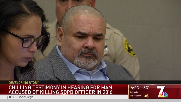 Preliminary Hearing for Man Accused of Killing SDPD Officer