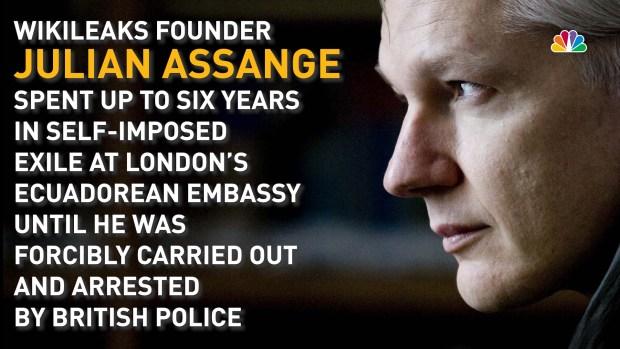 [NATL]A Timeline of WikiLeaks' Julian Assange's Time in Self-Exile