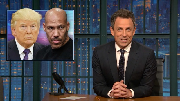 [NATL] 'Late Night': A Closer Look at Trump vs. LaVar Ball