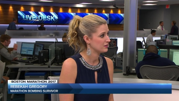 Boston Marathon Bombing Survivor Talks About New Book