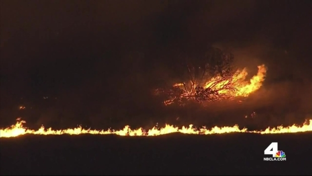 [LA] Banister Fire Rips Through Simi Valley