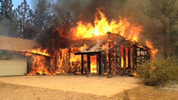 [G]Banner Fire Burns Near Julian